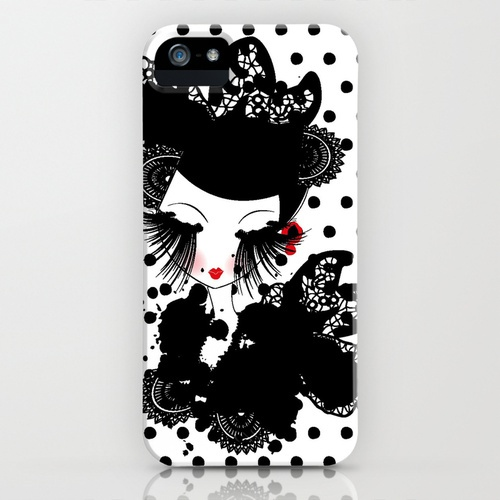 ''Lady of Willow'' iPhone Case