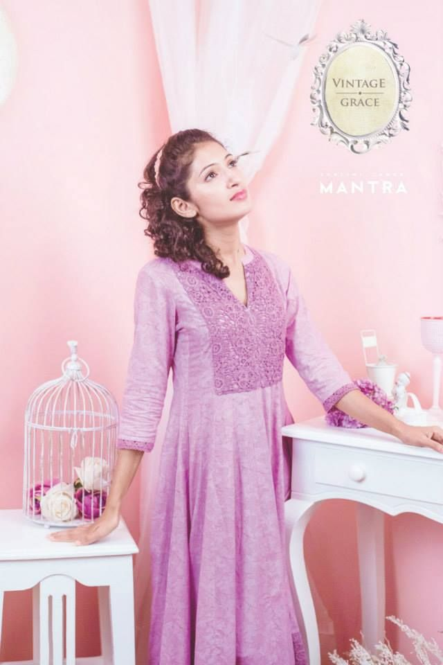 Shop for this Lavender anarkali at http://bit.ly/1IkzYxk
