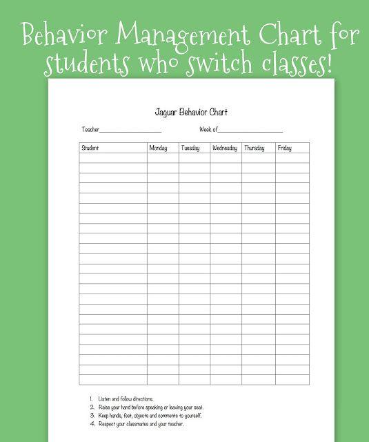 Tween Teaching: Classroom Behavior System for Upper Grades