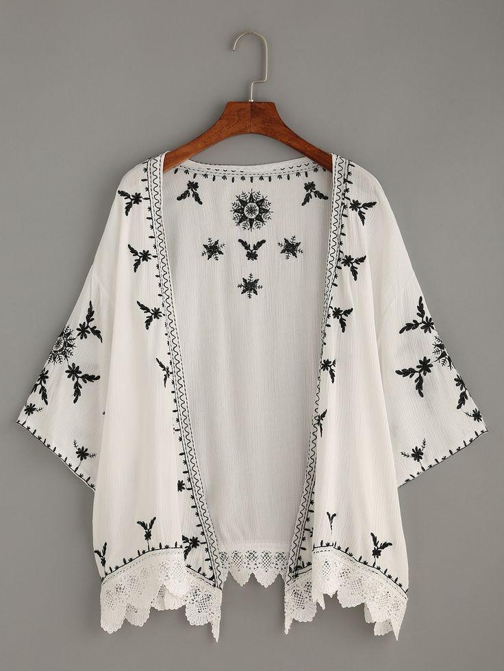 Die besten 25 white kimono ideen auf pinterest wei es - Shein kleidung ...