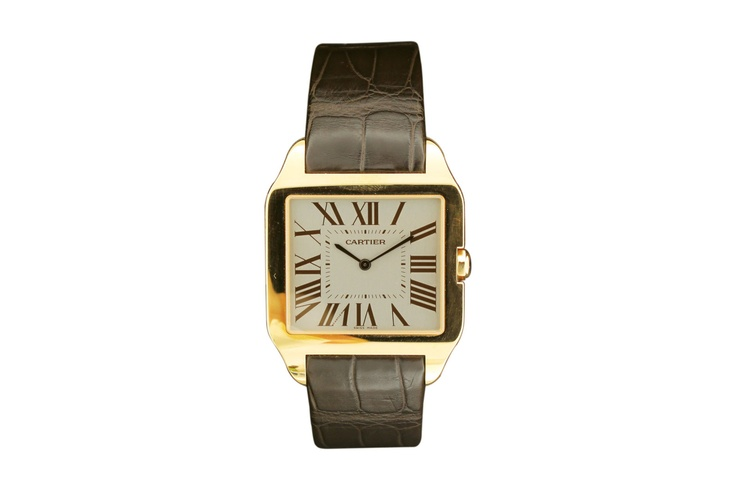 "Buy a Cartier ""Santos Dumont"". Made in circa 2010. watch in Classifieds on Presentwatch.com"