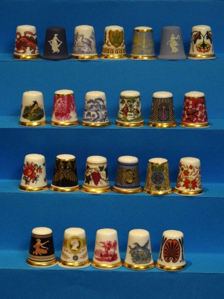 Coleccion Completa Museum Collection de Wedgwood. Thimble-Dedal-Fingerhut.