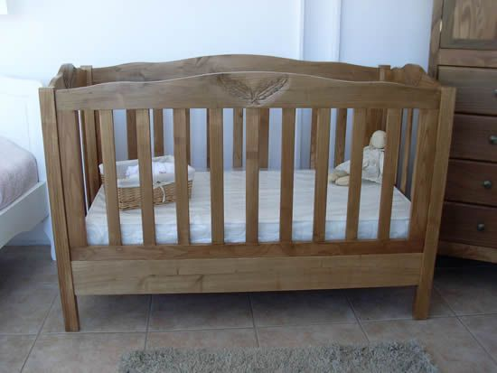 17 mejores im genes sobre cunas y moises en pinterest - Cunas de madera para bebes ...