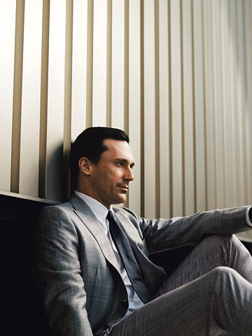 Jon Hamm #suits up in Valentino