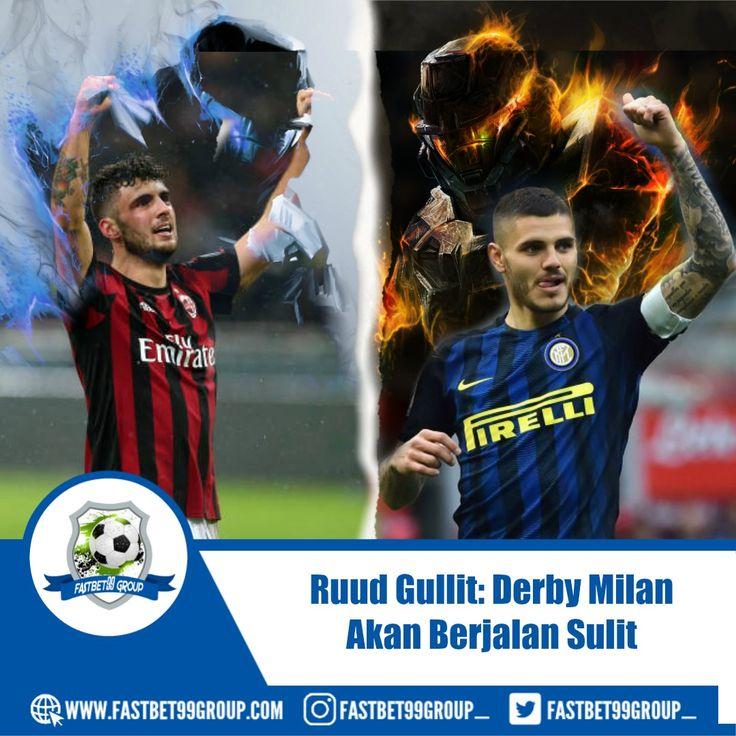 #Legenda #Belanda #Ruud Gullit #meyakini #baik #AC #Milan #maupun #Inter #Milan #memiliki #peluang #yang #sama #untuk #menjadi #pemenang #dalam #Derby #della #Madonnina #Senin #dini #hari #pekan #depan #ac #milan #inter #milan #derby #della #madonnina #ruud #gullit