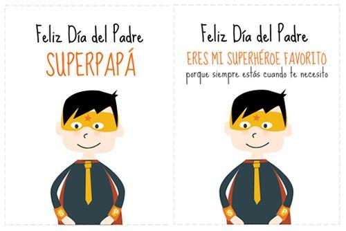 Tarjetas para el día del Padre para imprimir: http://dibujos-para-colorear.euroresidentes.com/2013/02/tarjetas-dia-del-padre.html