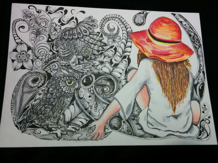 Owl girl 2.