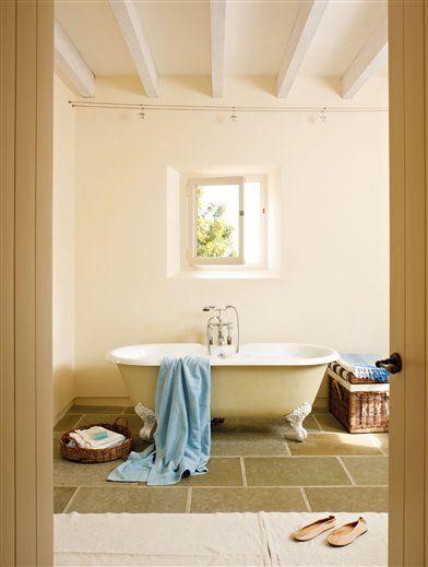 La bañera antigua