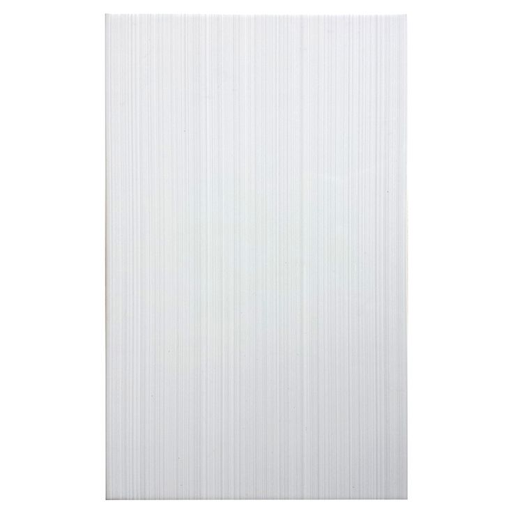Shop style selections blairlock white ceramic wall tile - White ceramic wall tiles bathroom ...