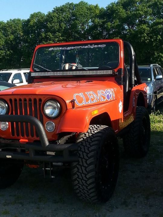 Another AWESOME Clemson Jeep!! | My Blood Runneth Orange ...