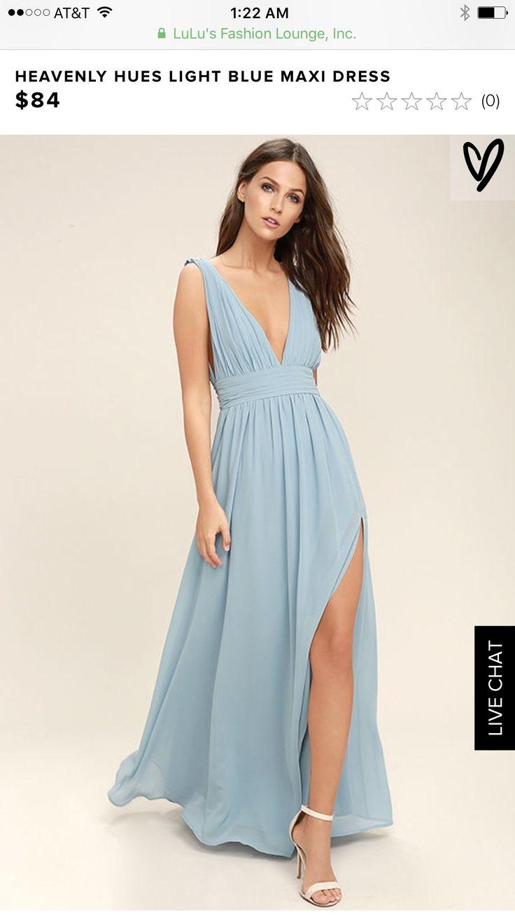 7 best Bridesmaid Dresses images on Pinterest | Blue maxi dresses ...