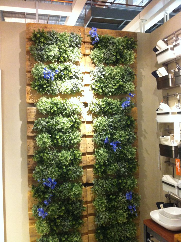 Garden Ideas Made From Pallets best 10+ pallet garden walls ideas on pinterest | herb garden