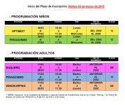 El 3 de marzo abre el plazo de inscripción para los cursos de la Escuela Náutica del Cabildo