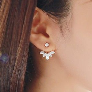 2015-Fashion-Earing-Big-Crystal-Rose-Gold-Silver-Ear-Jackets-Jewelry-High-Quality-Stud-Earrings-For-Women-0