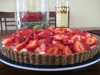 Tarts and Strawberries on Pinterest