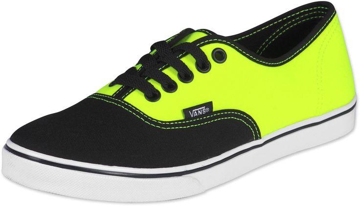 Vans Authentic Lo Pro W schoenen black/yellow