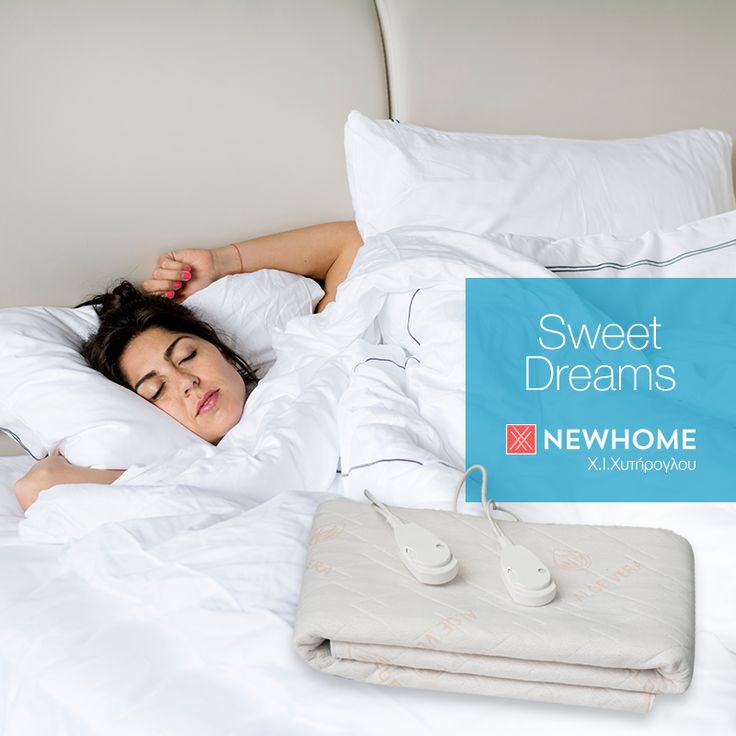 Για να έχετε γλυκά όνειρα ακόμη και τις πιο κρύες νύχτες, δοκιμάστε την ηλεκτρική κουβέρτα Newhome- Dream Aloe Vera.  Διατίθεται σε διαστάσεις:  Μονή  0,75 Χ 1,55 με ένα χειριστήριο Διπλή 1,40 X 1,55 με δυο χειριστήρια #newhome #chytiroglou #ilektriki #kouverta #aloevera
