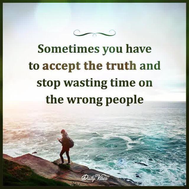 Accept The Truth Citacoes Sobre O Tempo Frases