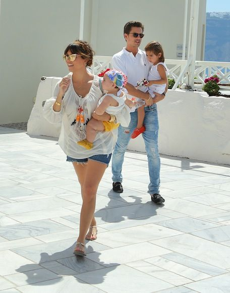 Kourtney Kardashian & Scott Disick, Santorini, Greece