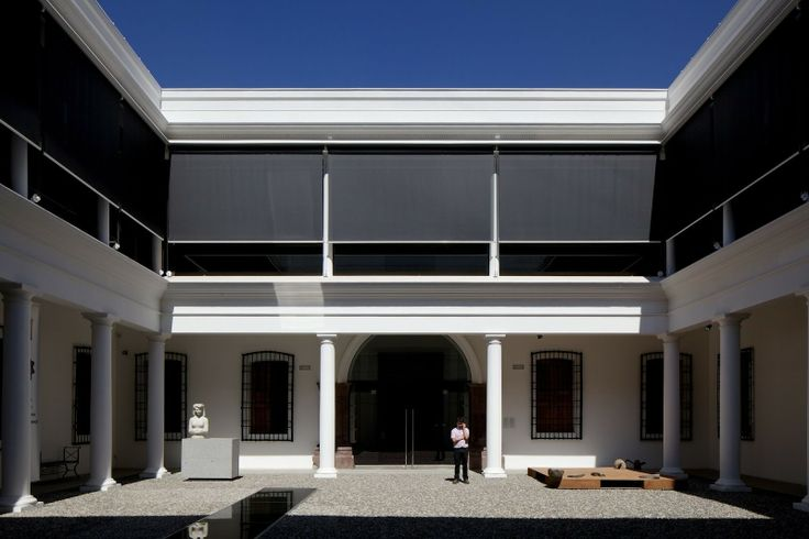 Smiljan Radic /// Renovation of the Chilean Museum of pre-colombian art /// Santiago, CHILE
