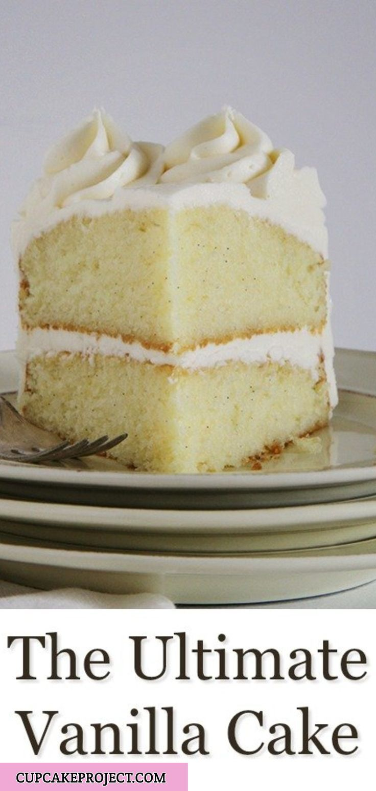 Best Vanilla Cake Recipe Best Vanilla Cake Recipe Ultimate