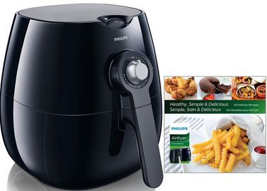 Buy this Philips Airfryer, The Original Airfryer with Bonus 150+ Recipe Cookbook, Fry Healthy with 75% Less Fat, Black HD9220/28 with deep discounted price online today.Healthy with 75% Less Fat, Black HD9220/28