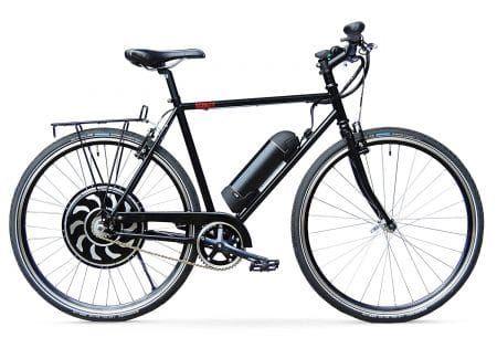 Scoozy-500 Electric Bike, Direct Drive Motor w/ 14Ah Li-Ion Battery, Lightweight Single Speed Adult Bicycle