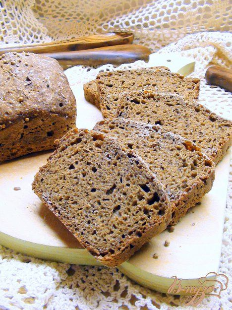 """Хлеб с сухим квасом, псевдо """"Старорусский"""". Простой, но невероятно вкусный. - пошаговый рецепт с фото"""