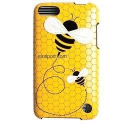 Coque iPod Touch 4 cuir abeille sur http://www.etui-iphone.com rubrique étui ipod