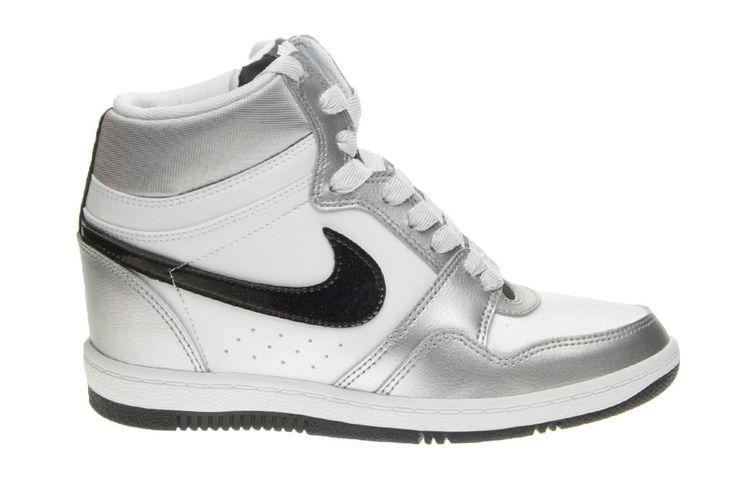 Nike Force Sky Hi Black/White | Blue&Cream