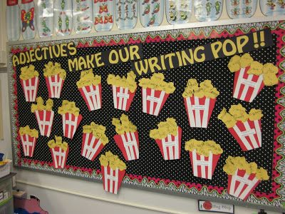 Adjectives Make Our Writing Pop! - love this idea...