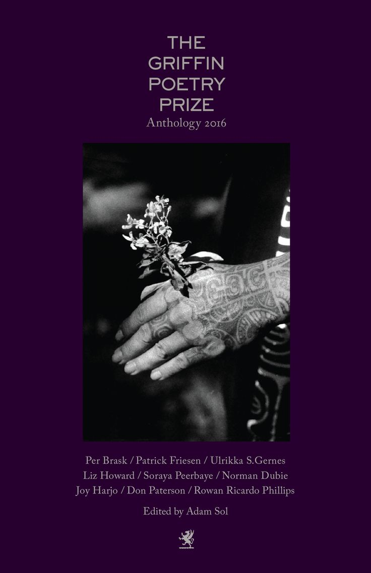 Learn more: https://houseofanansi.com/products/the-2016-griffin-poetry-prize-anthology