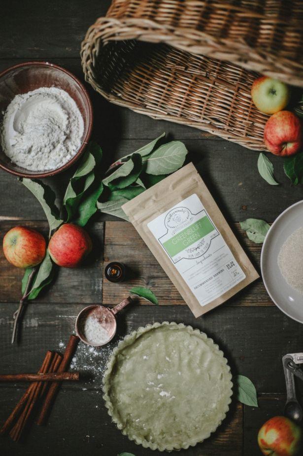 Handcrafted GreenBluff Organic Jasmine Green Tea - Makes 25-30 Cups Of Tea by Winterwoods Tea Company on Gourmly