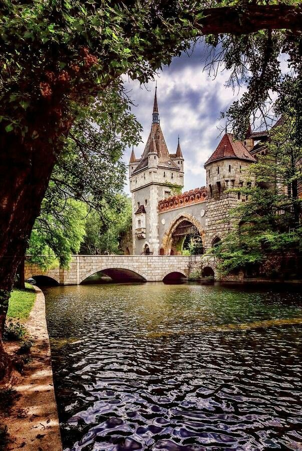 Castllo en Budapest (Hungria)