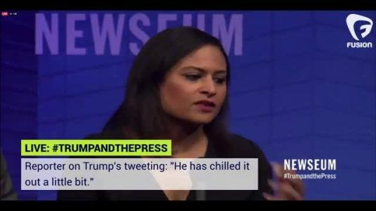 How do you solve a problem like Trump?  LIVE: Journalists gather at Newseums  #TrumpandthePress eve #news #alternativenews