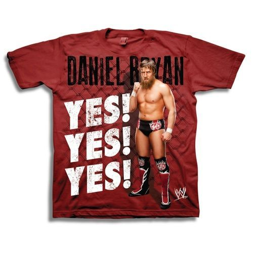 WWE Daniel Bryan Yes T-Shirt