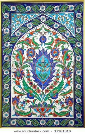 Turkish tile mosaic