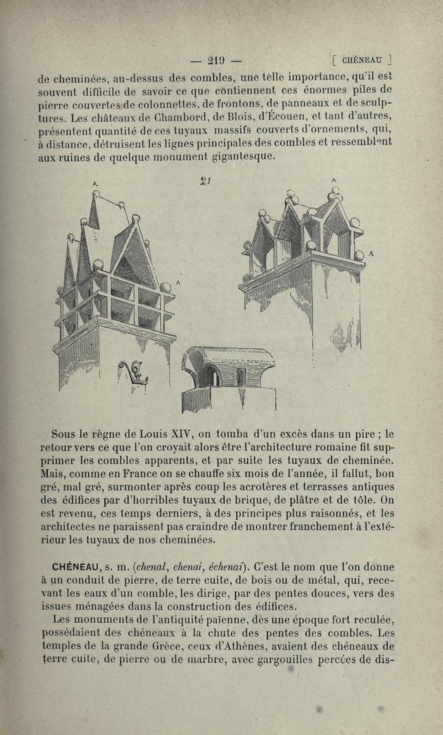Dictionnaire raisonn de l 39 architecture fran ai roof for Architecture dictionnaire
