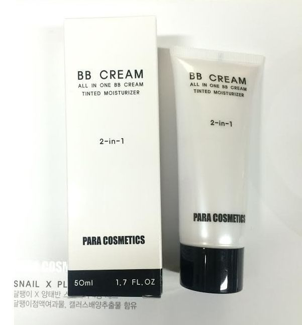 KOREAN DUAL EFFECT BB CREAM Natural Color 50% Discount paracos 30ml   #paracos