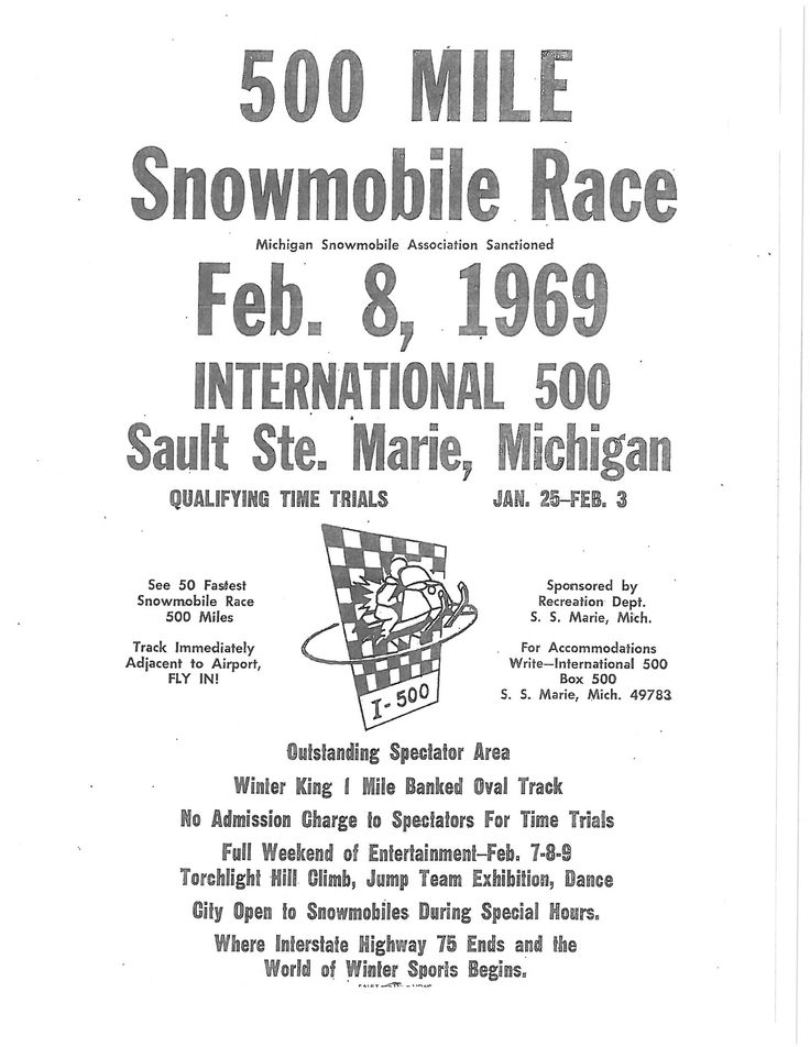 32 best The International 500 Snowmobile Race images on