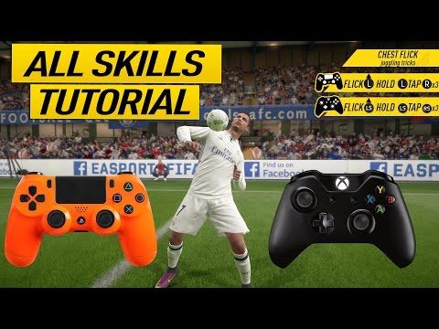 "http://www.fifa-planet.com/fifa-17-tutorials/fifa-17-all-skills-tutorial-secret-skill-moves-new-skills-xbox-playstation-2/ - FIFA 17 ALL SKILLS TUTORIAL + SECRET SKILL MOVES & NEW SKILLS - XBOX & PLAYSTATION  FIFA 17 TUTORIAL ABOUT ALL SKILLS & TRICKS IN FIFA 17. THE TUTORIAL INCLUDES NEW SKILLS, HIDDEN SKILLS, UNLISTED SKILLS, OLD SKILLS ►Buy Cheap & Safe FIFA 17 COINS – http://ultimatecoinexchange.com/?rfsn=450995.f59fc – Discount Code ""Krasi&"