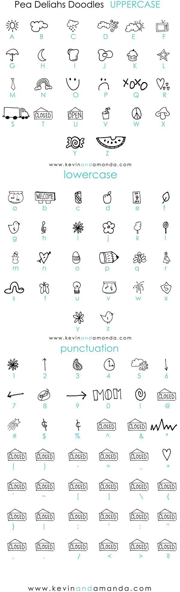 Free Deliah's Doodles Font