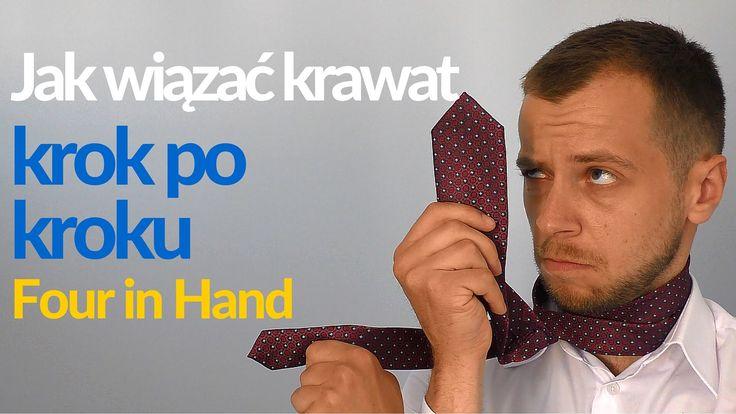 Jak wiązać krawat, krok po kroku - węzeł Four in Hand