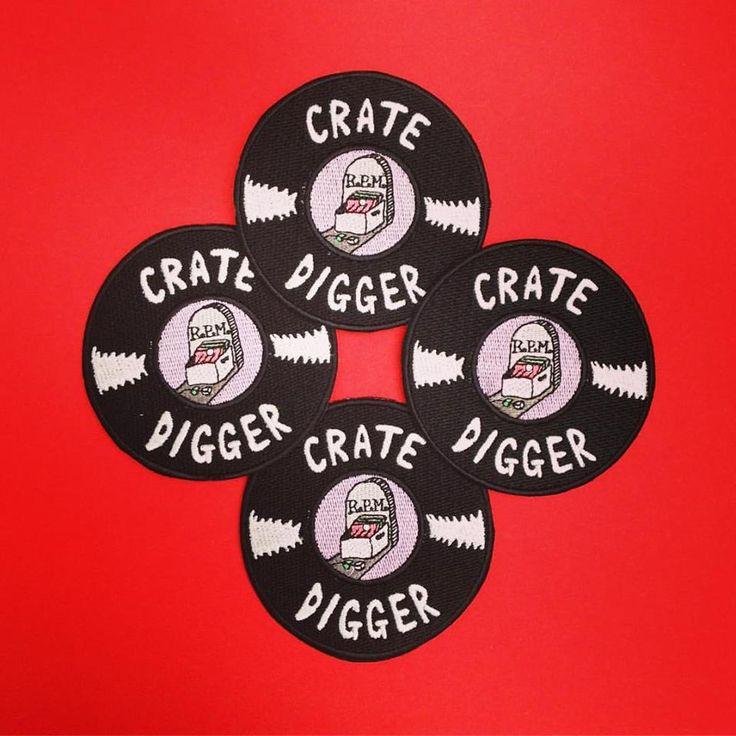 Crate Digger badges