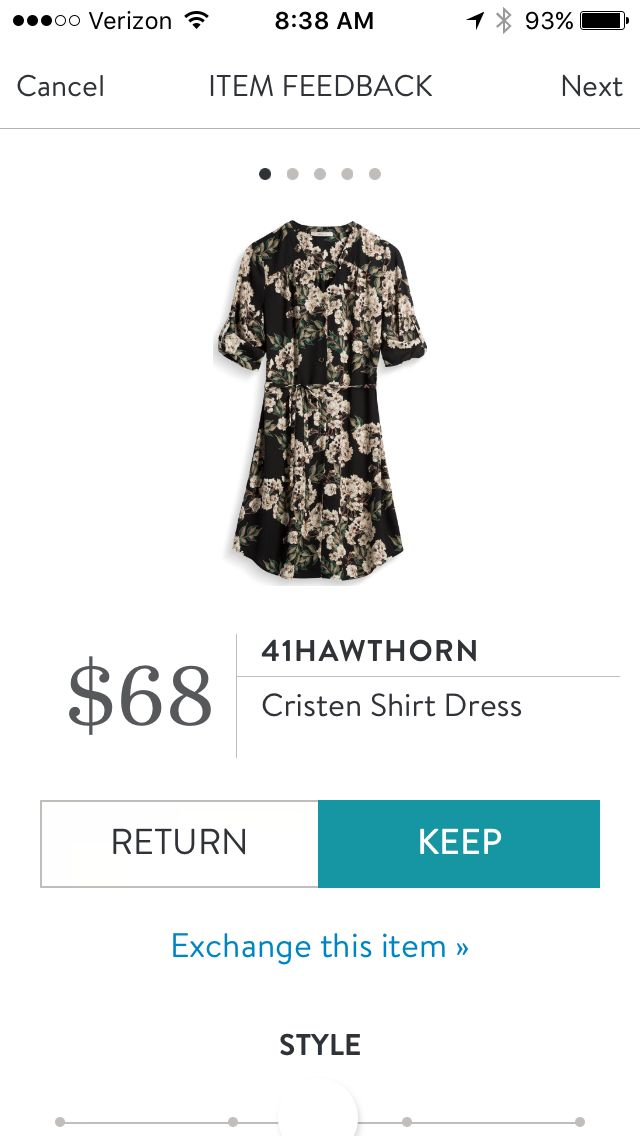 41Hawthorn Cristen Shirt Dress - October 2016, #StitchFix. I love Stitch Fix! A personalized styling service and it's amazing!! Simply fill out a style profile with sizing and preferences. Then your very own stylist selects 5 pieces to send to you to try