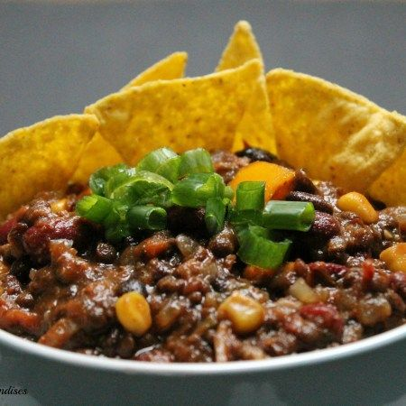 vegan 3-bean chili