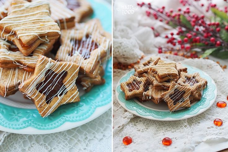 Карамельное печенье - Caramel cookies - HAPPYFOOD