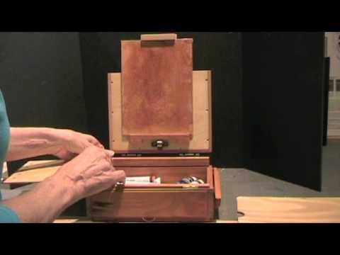 Pochade Box for plenaire painting