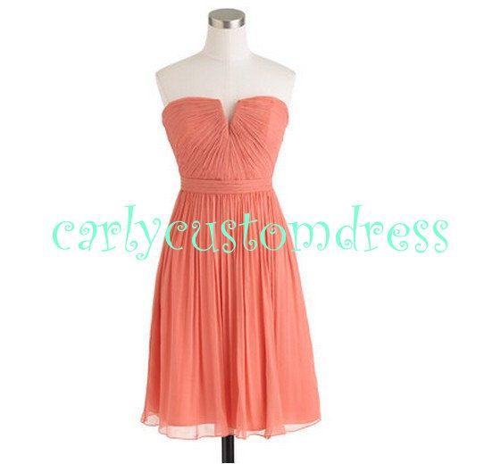 Black and pink short bridesmaid dresses