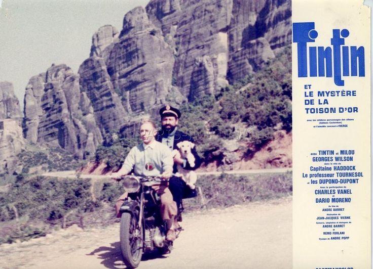JEAN-PIERRE TALBOT TINTIN ET LE MYSTERE DE LA TOISON D OR 1961 PHOTO ORIGINAL 19